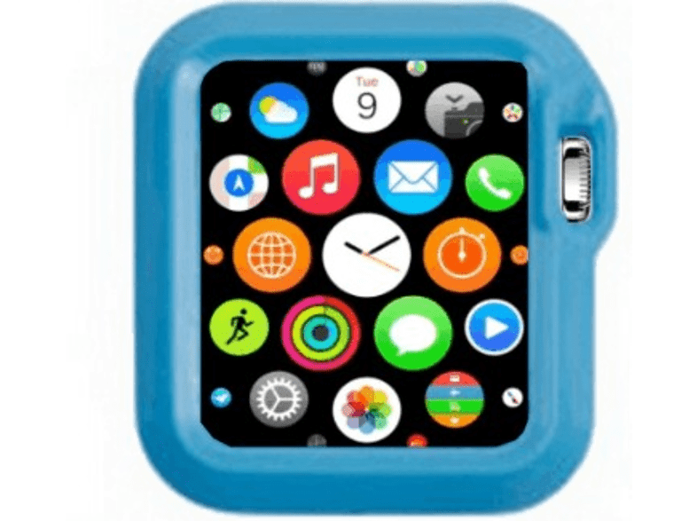 4YOUR WATCH Cover Fashion Case Apple Watch Blauw (4YW-FC38BL)