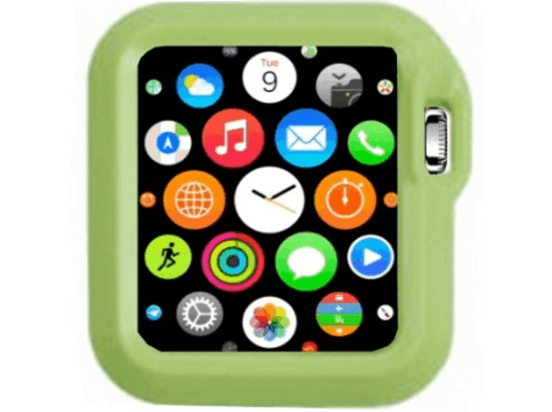 4YOUR WATCH Cover Fashion Case Apple Watch Groen (4YW-FC38GR)