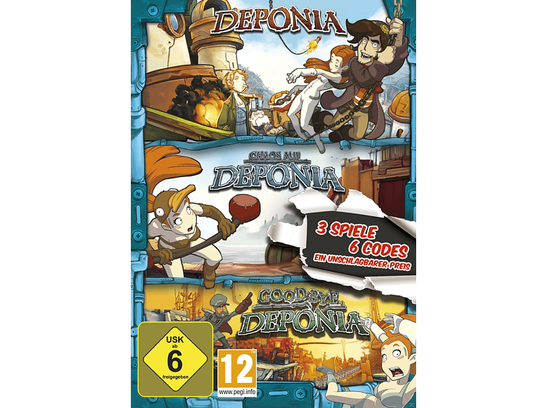 Deponia Family Pack [PC]