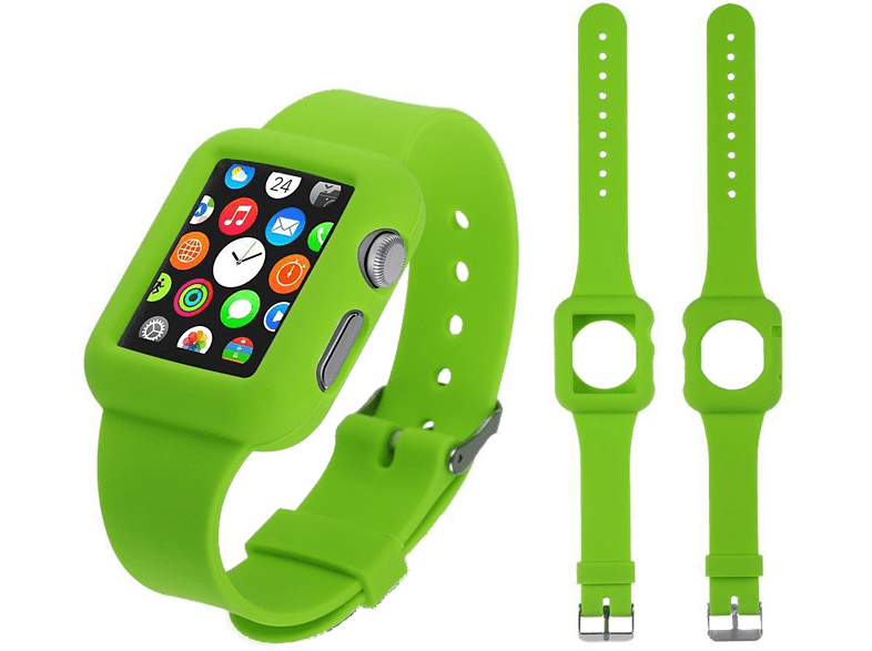 4YOUR WATCH Cover Silicon Case Band Apple Watch Groen (4YW-CB42GR)