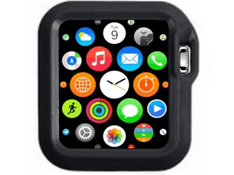 4YOUR WATCH Cover Fashion Case Apple Watch Zwart (4YW-FC42BK)