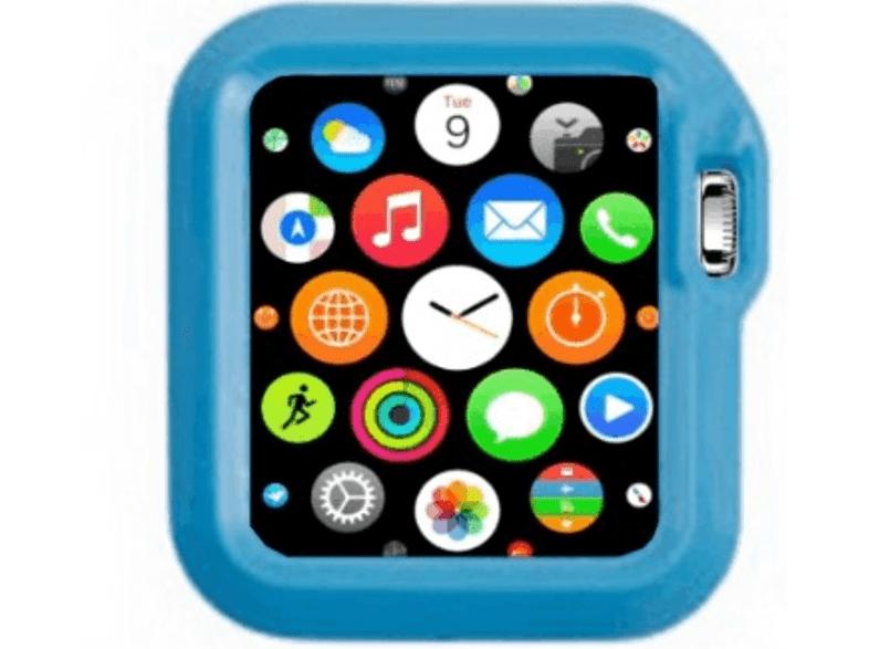4YOUR WATCH Cover Fashion Case Apple Watch Blauw (4YW-FC42BL)