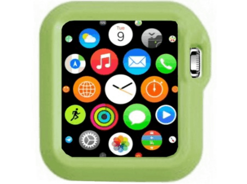 4YOUR WATCH Cover Fashion Case Apple Watch Groen (4YW-FC42GR)