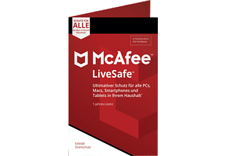 McAfee LiveSafe Device Attach (Code in a Box)