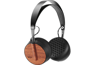 Auriculares inalámbricos - Marley BUFFALO SOLDIER BT, bluetooth, acero inoxidable, controles