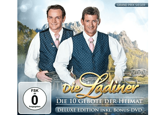 Die Ladiner - Die 10 Gebote der Heimat-Del - (CD + DVD Video)