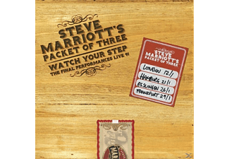 Steve Marriott's Packet Of Three - Watch Your Step - Live '91 (Deluxe Boxset) - (CD)