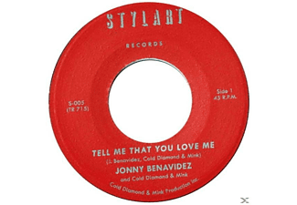 Jonny Benavidez, Cold Diamond, Mink - Tell Me That You Love Me - (Vinyl)
