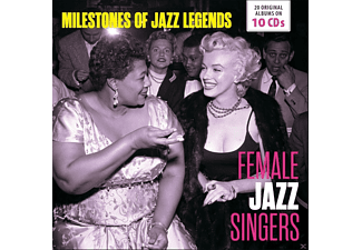 VARIOUS - Female Jazz Singers-Milestones of Jazz Legends - (CD)