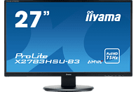 IIYAMA ProLite X2783HSU-B3  Full-HD Monitor (4 ms Reaktionszeit, 75 Hz)