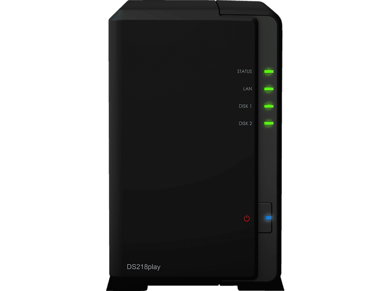SYNOLOGY DS218play  3.5 Zoll extern