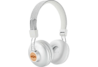MARLEY Positive Vibration, On-ear Kopfhörer, Bluetooth, Silber
