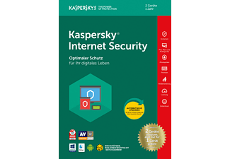 Kaspersky Internet Security 2+2+2 Geräte Limited Edition (Code in a Box)