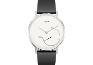 Smartwatch - Nokia Steel, Bluetooth, Alarma, Blanco