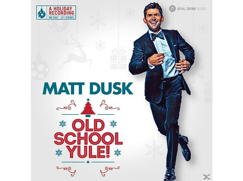 Matt Dusk - Old School Yule (LP) [Vinyl]