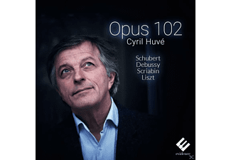 Cyril Huve - Opus 102 - (CD)