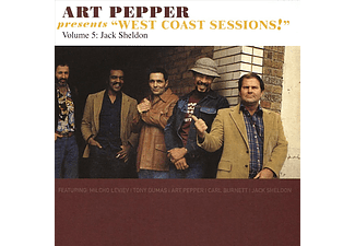 Art Pepper - Art Pepper Presents West Coast Sessions!: Vol. 5: Jack Sheldon (CD)