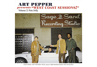 Art Pepper - Art Pepper Presents West Coast Sessions!: Vol. 2: Pete Jolly (CD)