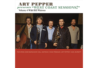 Art Pepper - Art Pepper Presents West Coast Sessions!: Vol. 4: Bill Watrous (CD)