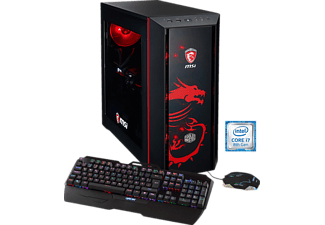 HYRICAN MSI DRAGON EDITION 5727, Gaming PC mit Core™ i7 Prozessor, 32 GB RAM, 500 GB SSD, 3 TB HDD, Geforce® GTX 1080, 8 GB GDDR5 Grafikspeicher
