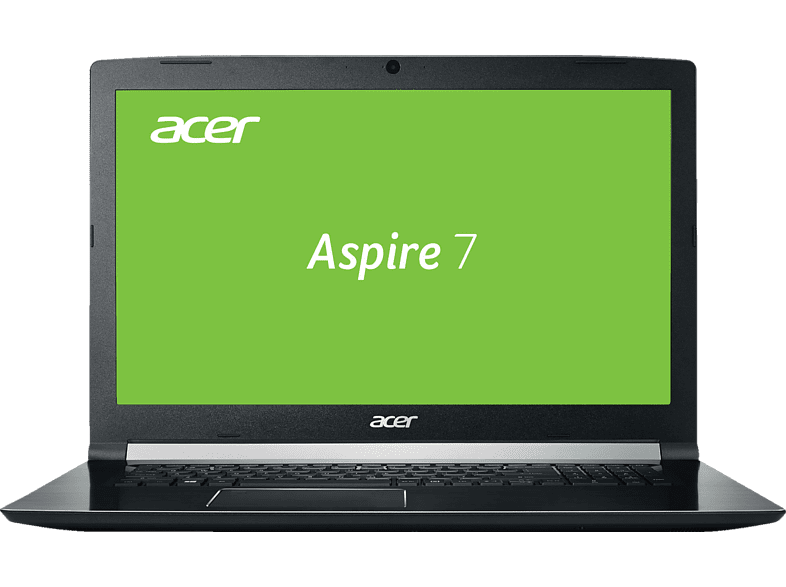 ACER Aspire 7 (A717-71G-70UJ), Gaming-Notebook, Gaming Notebook, Core™ i7 Prozessor, 16 GB RAM, 128 GB SSD, 1 TB HDD, GeForce® GTX 1050, Schwarz