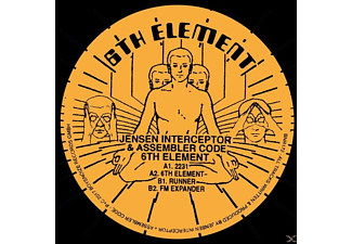 Jensen Interceptor, Assembler Code - 6th Element - (Vinyl)