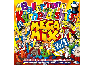 VARIOUS - Ballermann Karneval Hits Megamix Vol. 1 [CD]