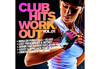 VARIOUS - Club Hits Workout Vol. 1 - (CD)