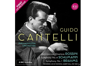 Guido/philharmonia Orchestra Cantelli - Semiramide-Ouvertüre/Sinfonien - (CD)