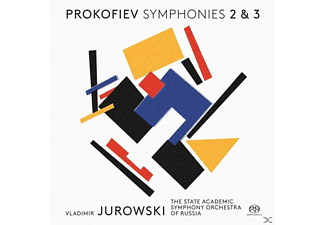 The State Academic Symphony Orchestra of Russia - Sinfonien 2+3 - (SACD Hybrid)