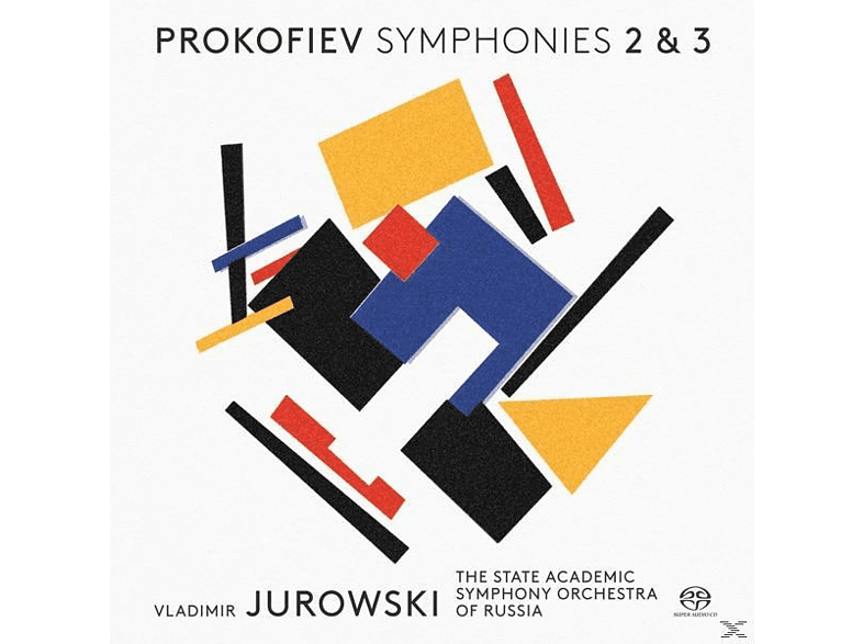 The State Academic Symphony Orchestra Of Russia - Sinfonien 2+3 [SACD]