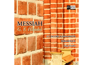 Gary/St.Jacobs Kammarkör/Rebaroque Graden - Messiah - (CD)