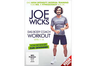 Joe Wicks - Das Body Coach Workout - Level 1-4 - (DVD)