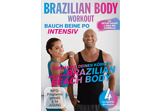 BRAZILIAN BODY WORKOUT-BAUCH BEINE PO INTENSIV - (DVD)