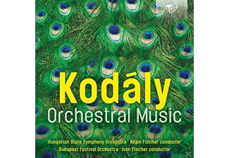 VARIOUS - Zoltan Kodaly-Orchestral Music - (CD)