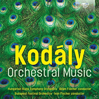 VARIOUS - Zoltan Kodaly-Orchestral Music [CD]