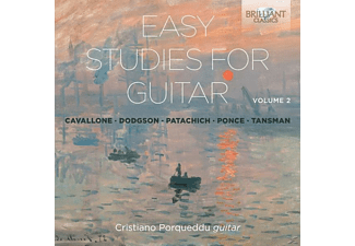 Porqueddu Cristiano - Easy Studies For Guitar Vol.2 - (CD)