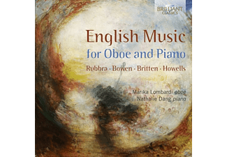 Marika Lombardi, Nathalie Dang - English Music For Oboe And Piano [CD]