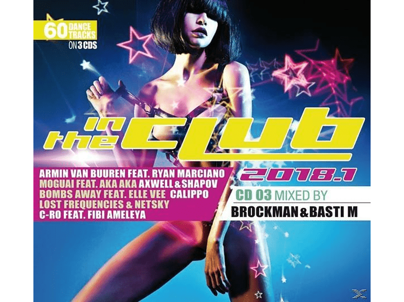 VARIOUS - In The Club 2018.1 [CD]