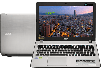 "ACER Aspire F5-573G ezüst notebook NX.GD9EU.015 (15.6"" Full HD/Core i5/4GB/128GB + 1TB/GT940MX 4GB/Linux)"