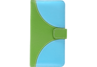 V-DESIGN NFC 142 Bookcover Apple iPhone X  Grün/Blau