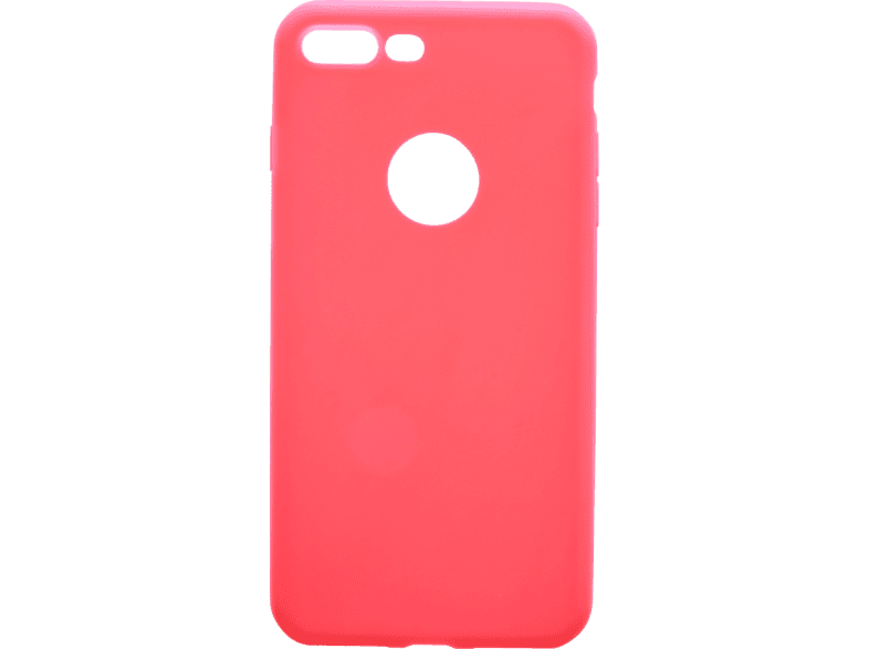 V-DESIGN  VMT 204 Backcover Apple iPhone 8 Plus/iPhone 7 Plus Thermoplastisches Polyurethan Rot | 04056212028352