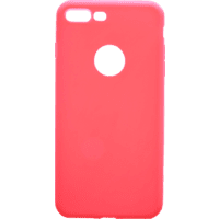 V-DESIGN VMT 204 Backcover Apple iPhone 8 Plus/iPhone 7 Plus Thermoplastisches Polyurethan Rot