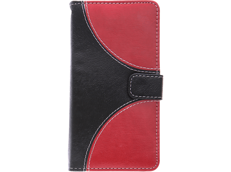 V-DESIGN NFC 143 Bookcover Apple iPhone X  Rot/Schwarz