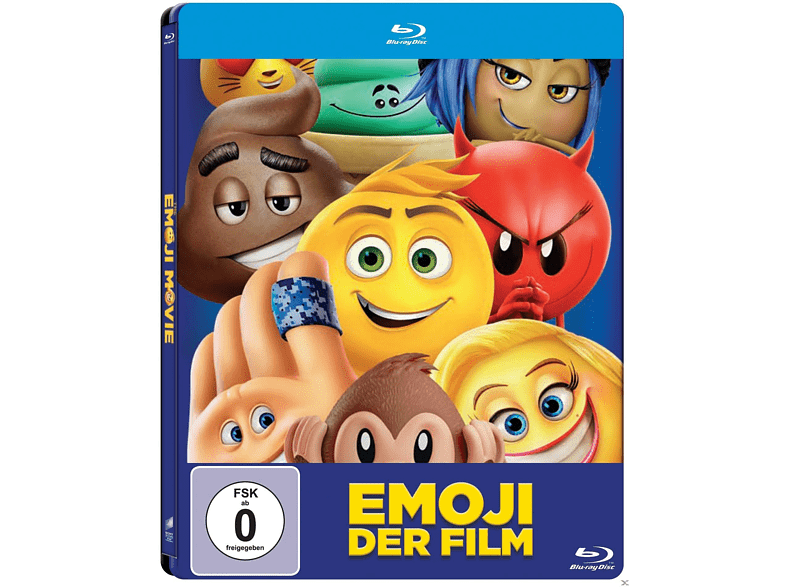 Emoji - Der Film (Steelbook) [Blu-ray]