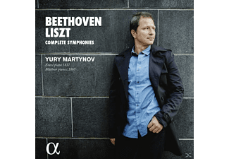 Yury Martynov - Beethoven, Liszt: Complete Symphonies - (CD)