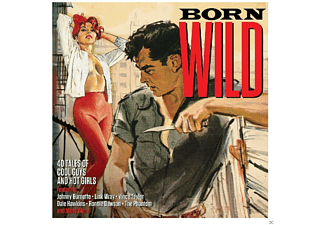 VARIOUS - Born Wild - (CD)