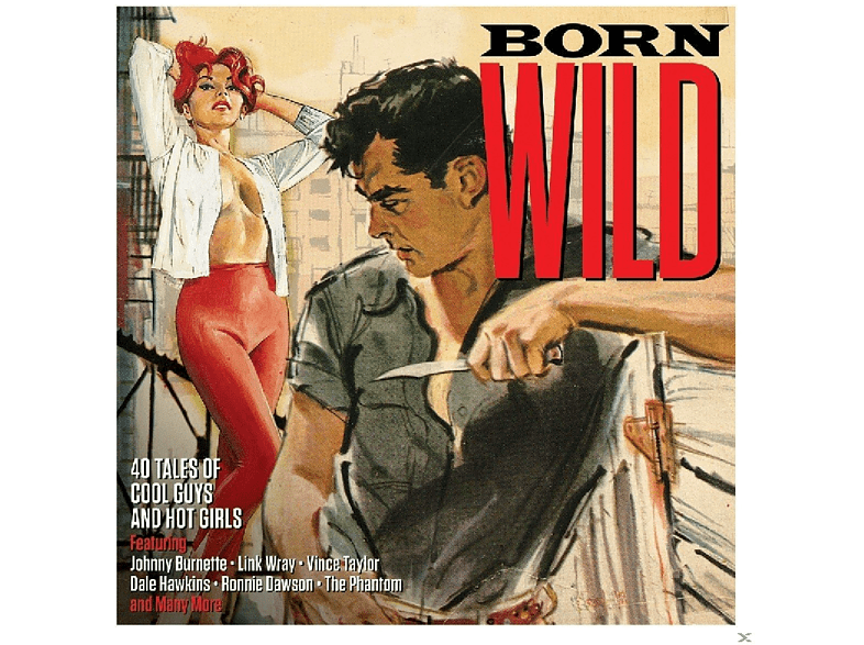 VARIOUS - Born Wild [CD]