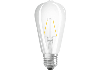 OSRAM 962088 LED Star Retrofit LED Leuchtmittel E27 Warmweiß 2 Watt 250 Lumen