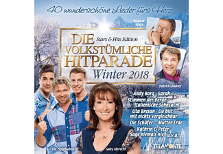 VARIOUS - Die volkstümliche Hitparade-Winter 2018 - (CD)